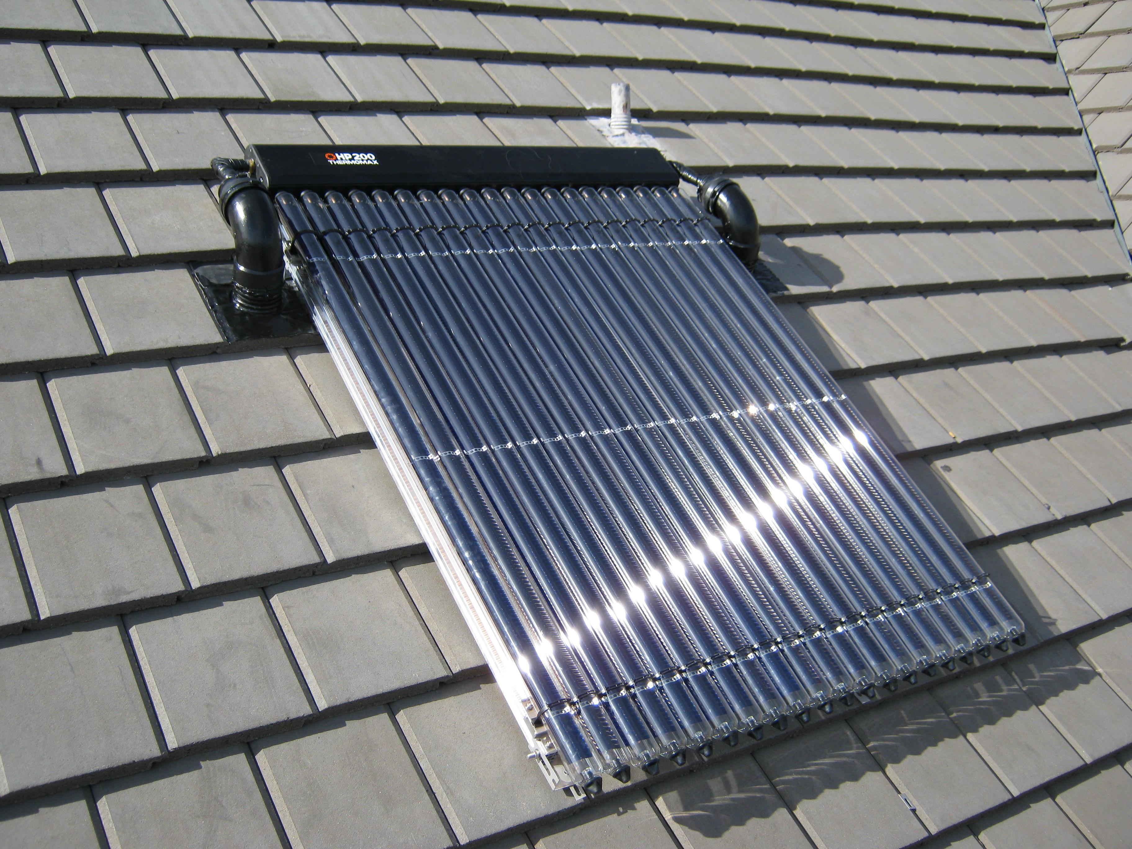 Thermische Zonnesystemen De Groene Energie Maatschappij