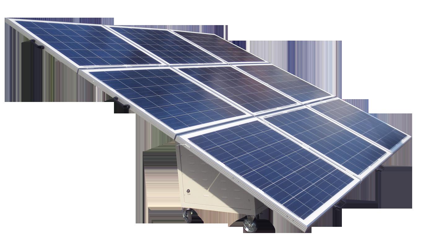 De Omnik Solar Cart Mobiele Zonnestroom Unit De Groene