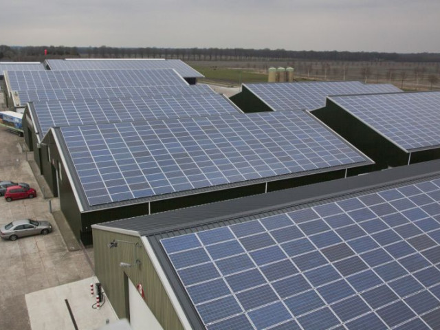 Biedt plaats voor 4600 zonnepanelen